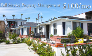 Orange County Property Management for $100/mo
