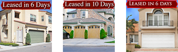 Ravena Property Leased in 5 days, Orange County California
