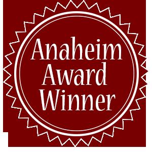 Anaheim Award Winner Button